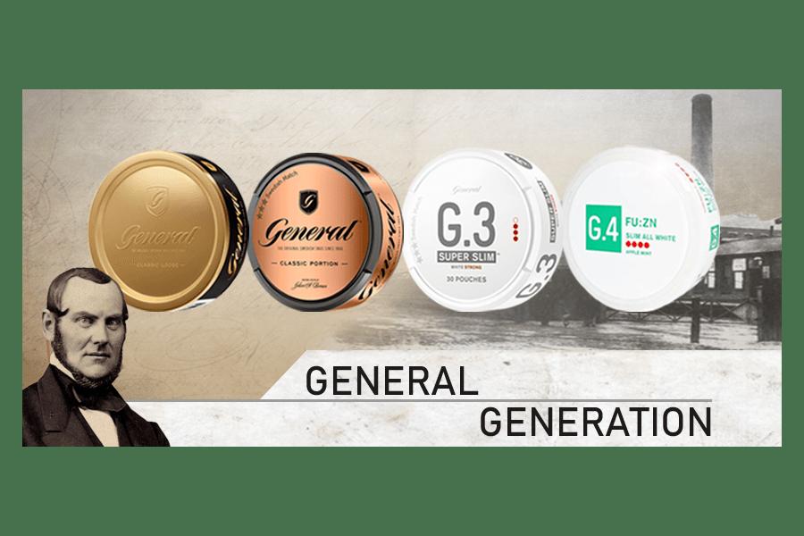 4 Generationen von General
