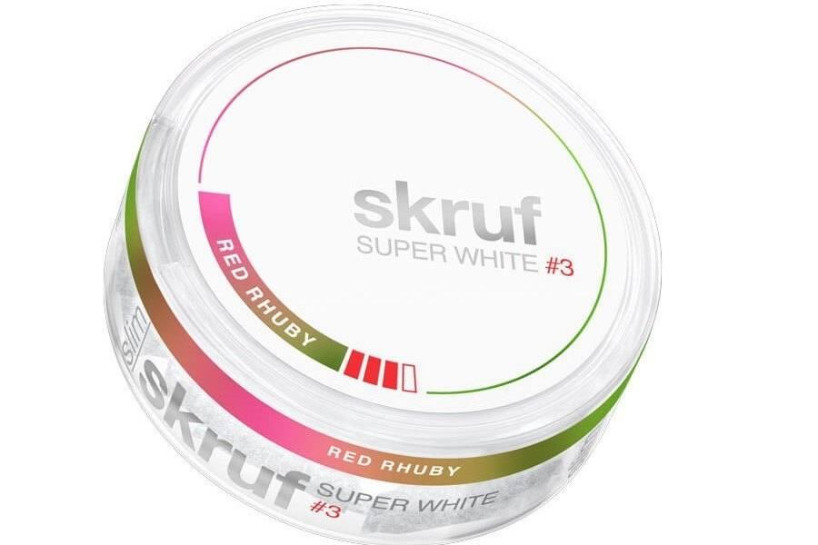 Skruf Super White Red Ruby - ein neuer Geschmack von Skruf