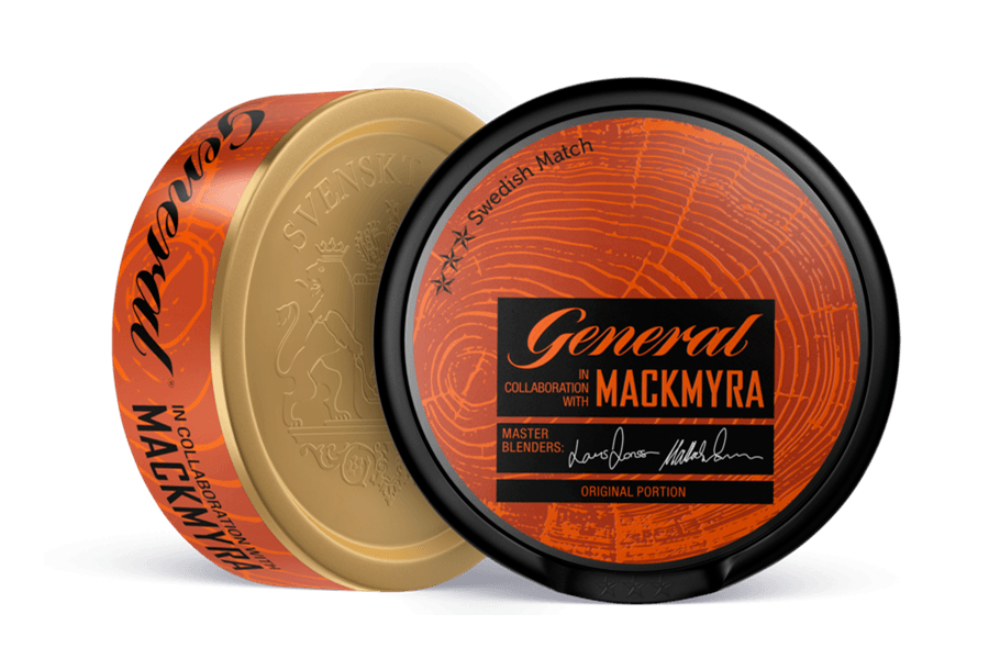 Swedish Match brachte General Mackmyra auf den Markt